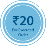 Equity Trading at 20 Rs. Per Order