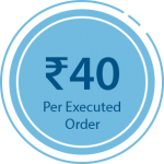 Equity Trading at 40 Rs. Per Order